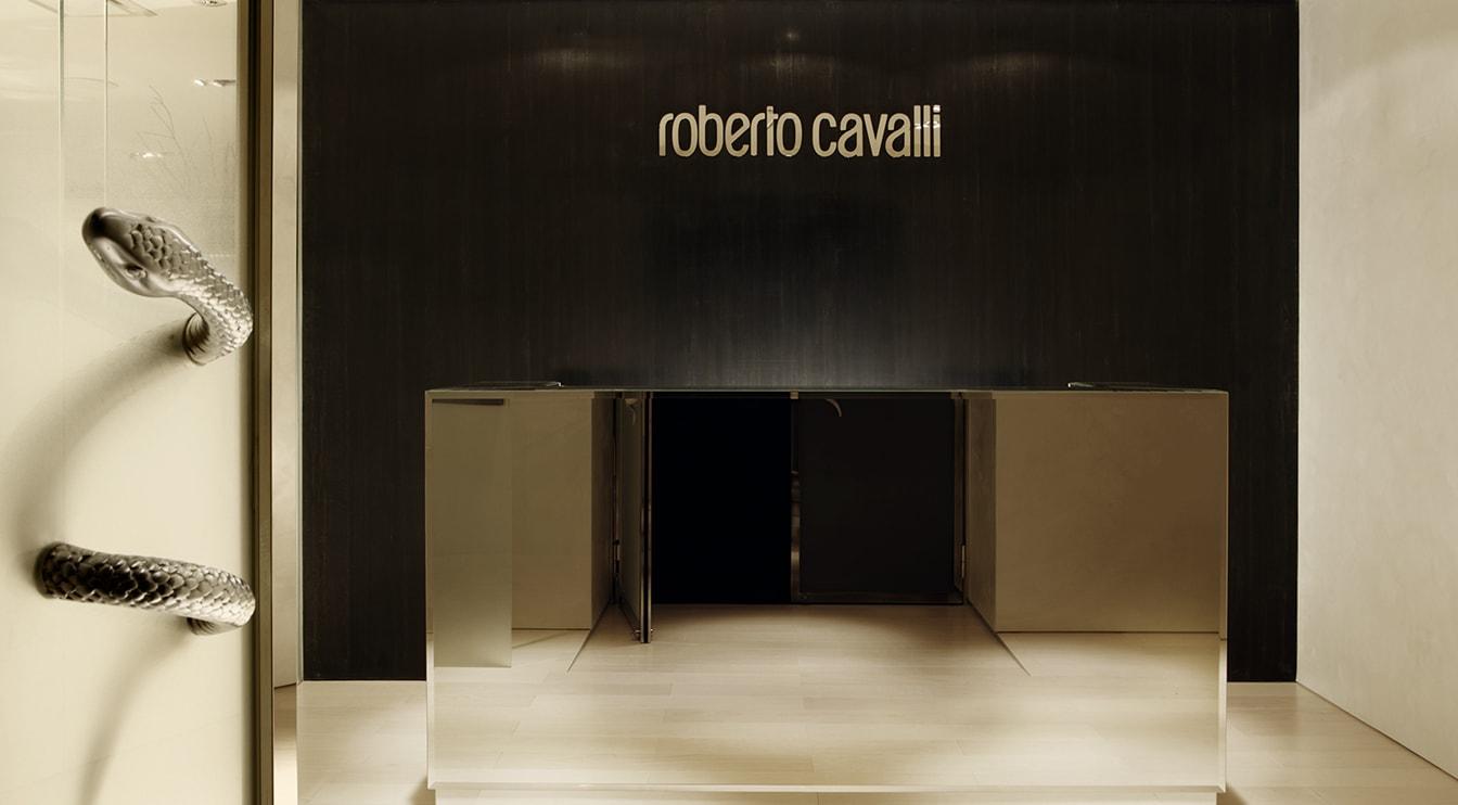 Robert Cavalli  Showroom